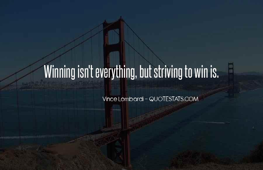 Quotes About Winning Sports #1029241