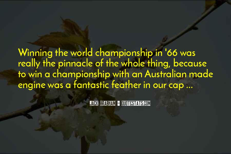 Quotes About Winning Sports #169060