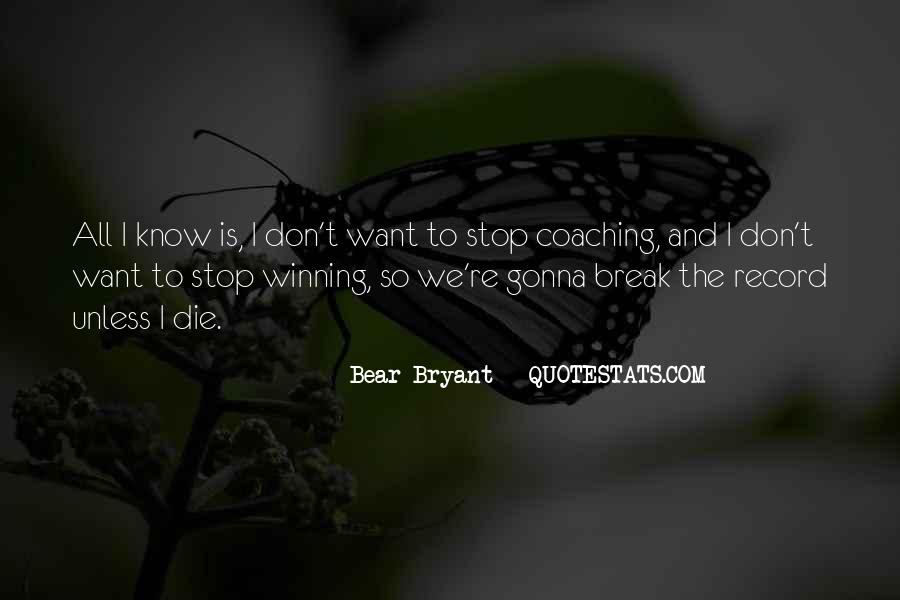 Quotes About Winning Sports #238387