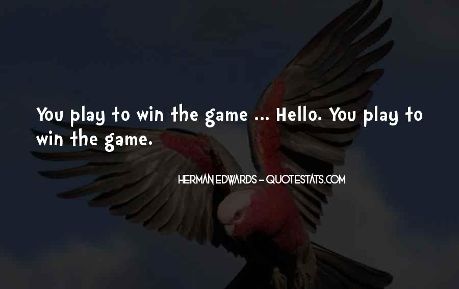 Quotes About Winning Sports #330439