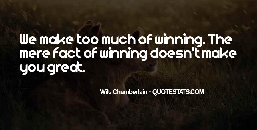 Quotes About Winning Sports #468355