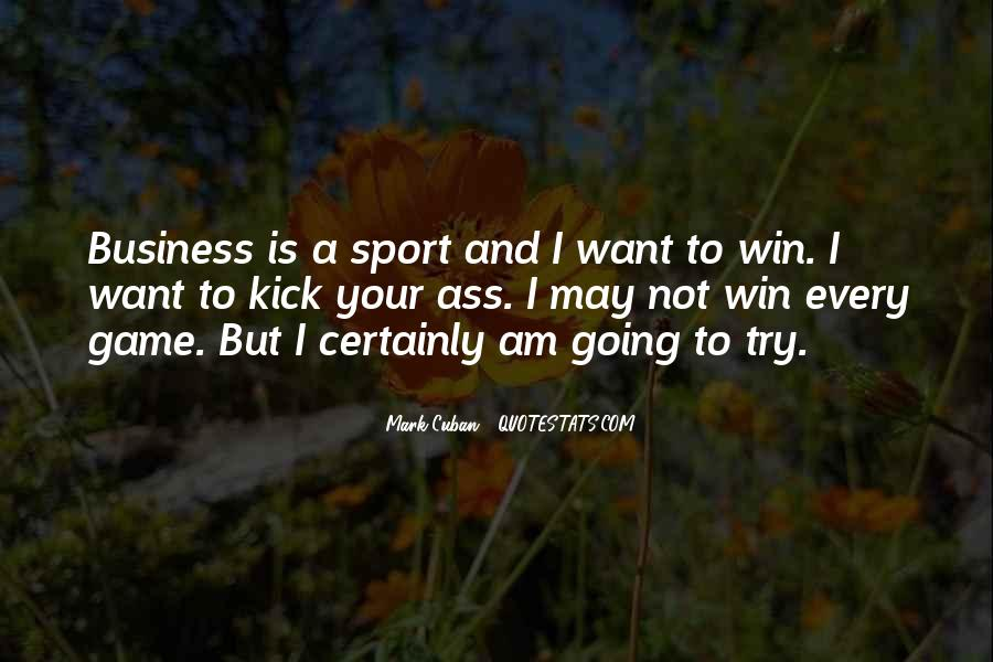Quotes About Winning Sports #61319