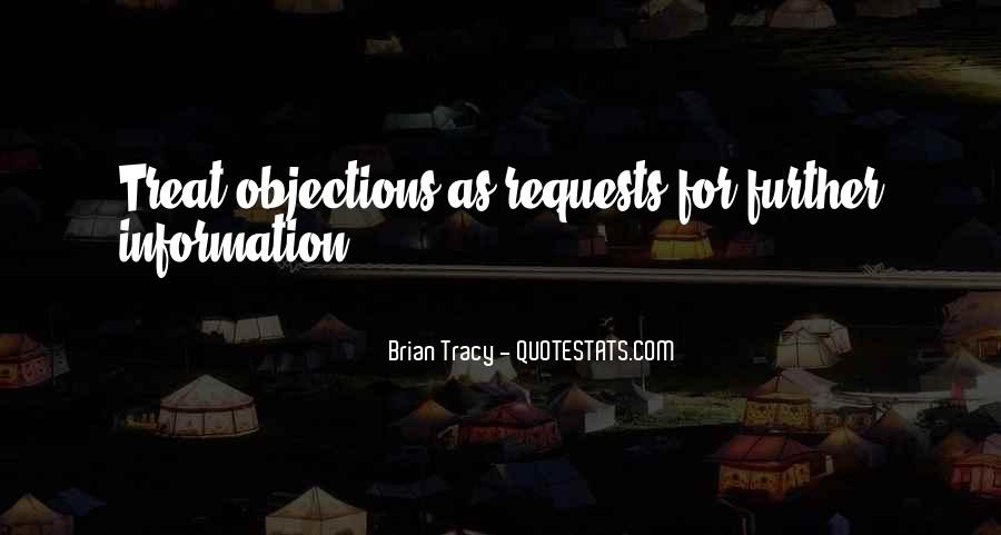Quotes About Sales Objections #666326