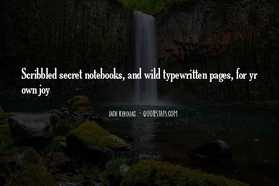 Quotes About Notebooks #1070190