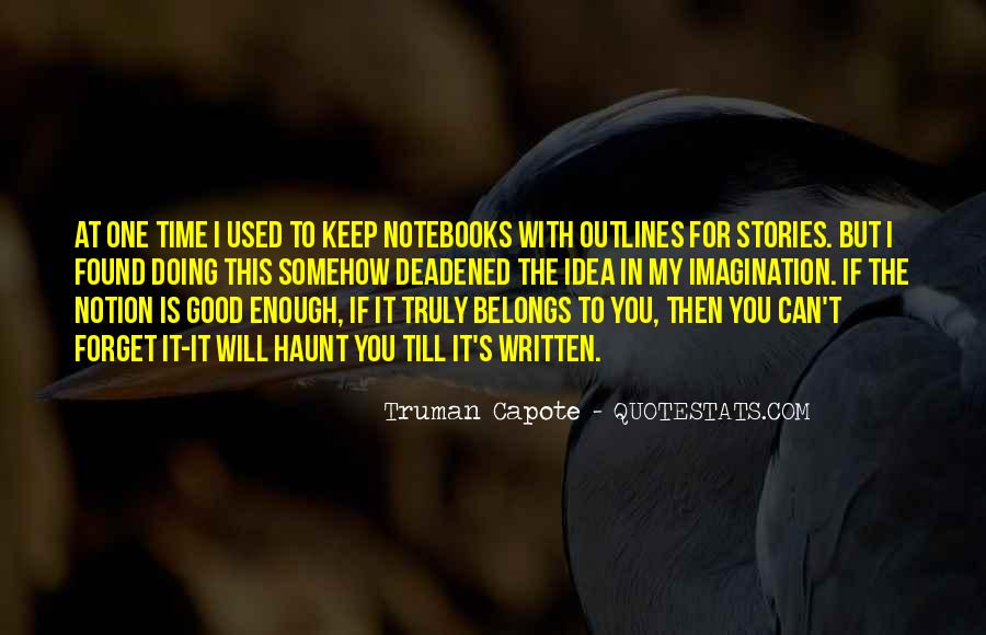 Quotes About Notebooks #1279317