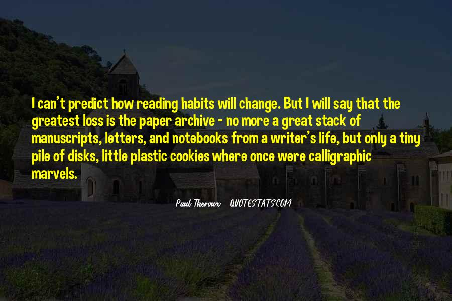 Quotes About Notebooks #1459395