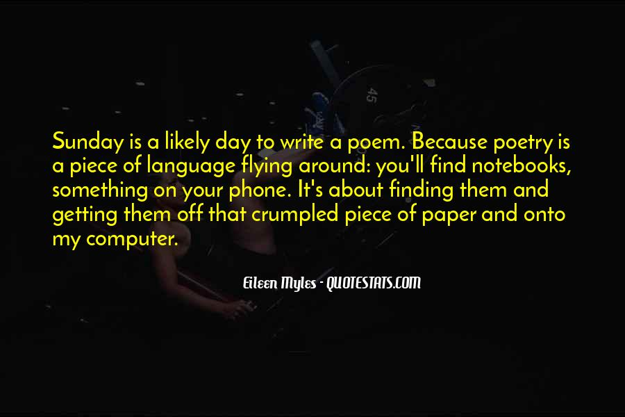 Quotes About Notebooks #248325