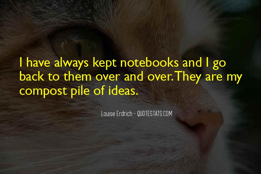 Quotes About Notebooks #615557