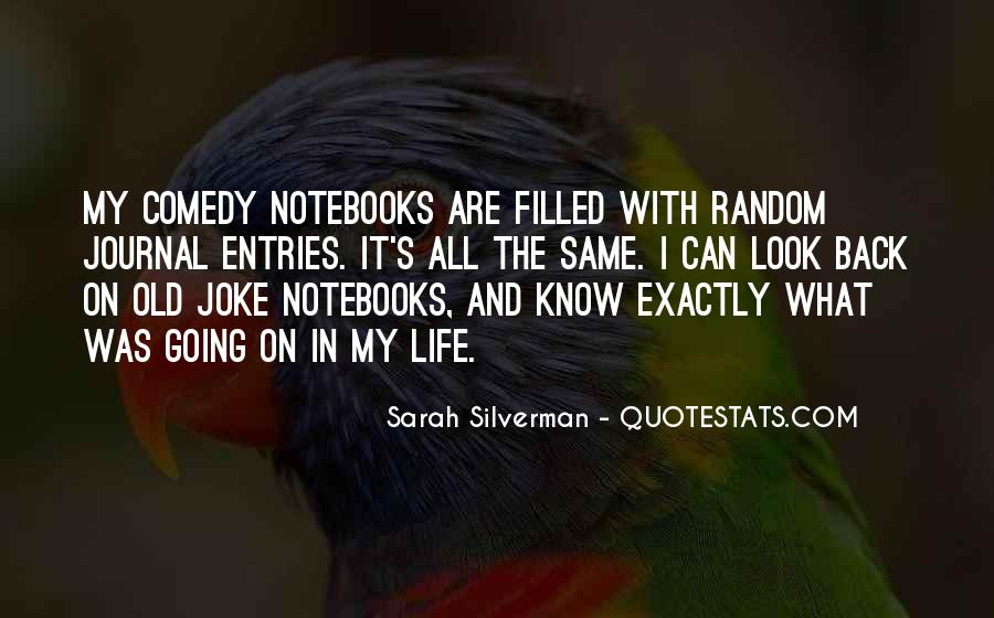 Quotes About Notebooks #677474