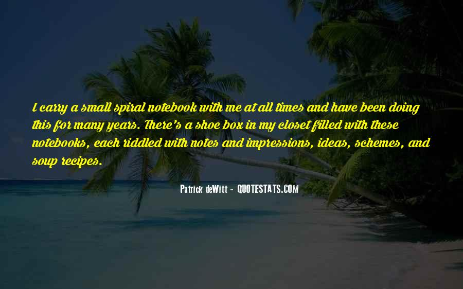Quotes About Notebooks #765241