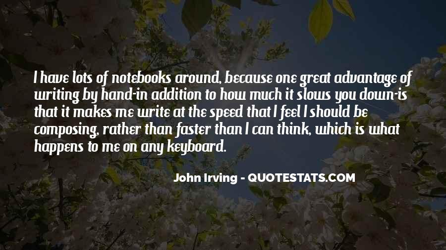 Quotes About Notebooks #821448