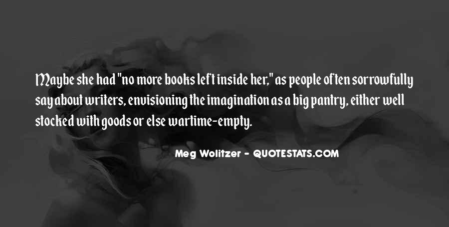 Quotes About Wolitzer #1044392