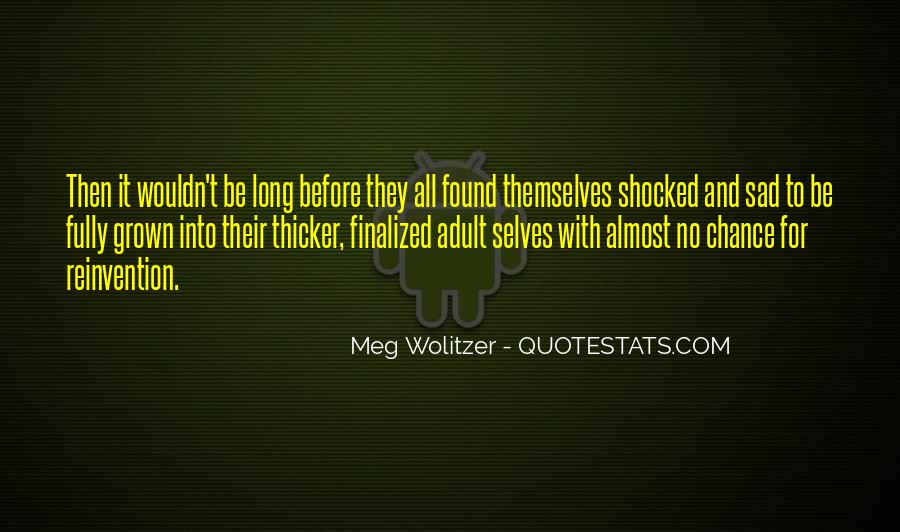 Quotes About Wolitzer #135437