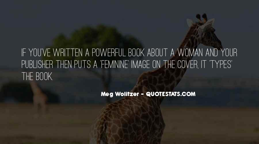 Quotes About Wolitzer #166946