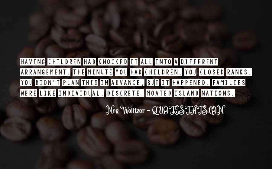 Quotes About Wolitzer #457486