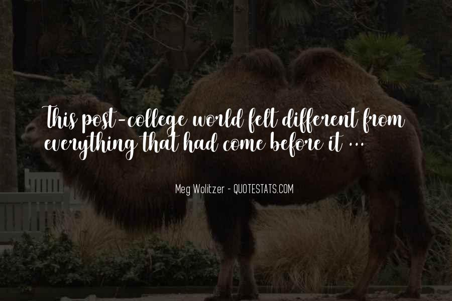Quotes About Wolitzer #484118