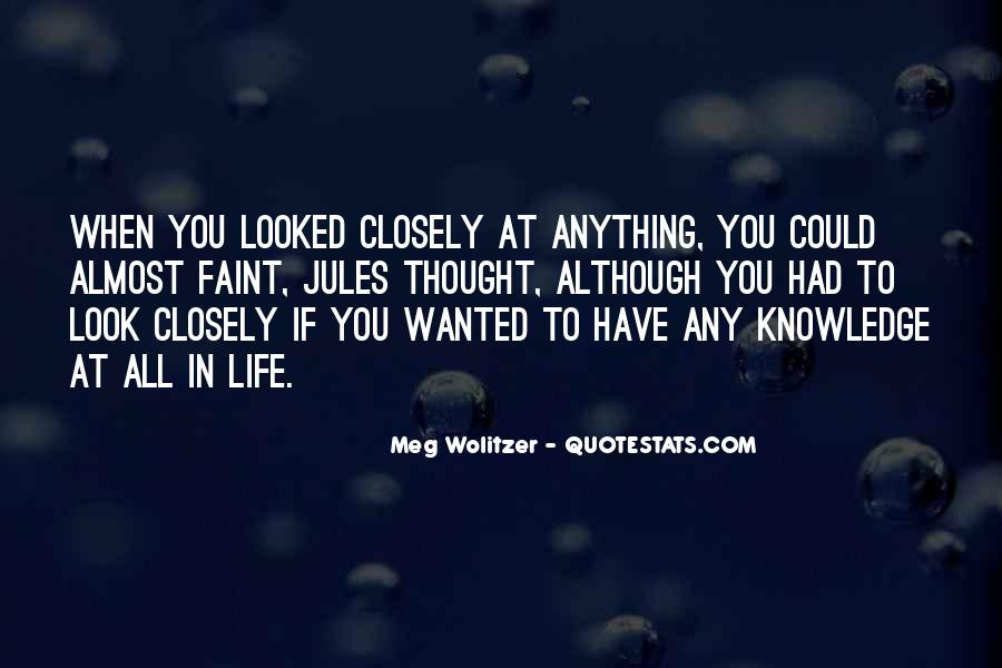 Quotes About Wolitzer #543352