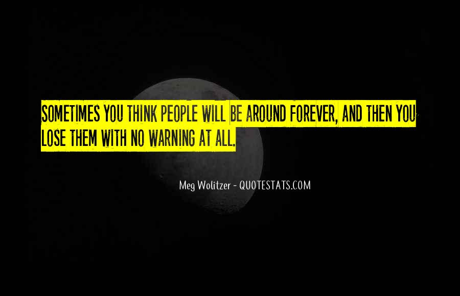 Quotes About Wolitzer #591941