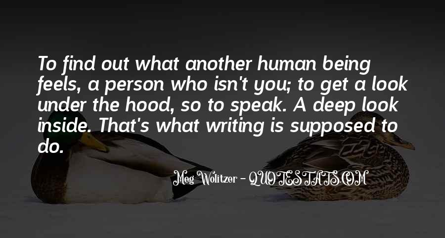 Quotes About Wolitzer #702416