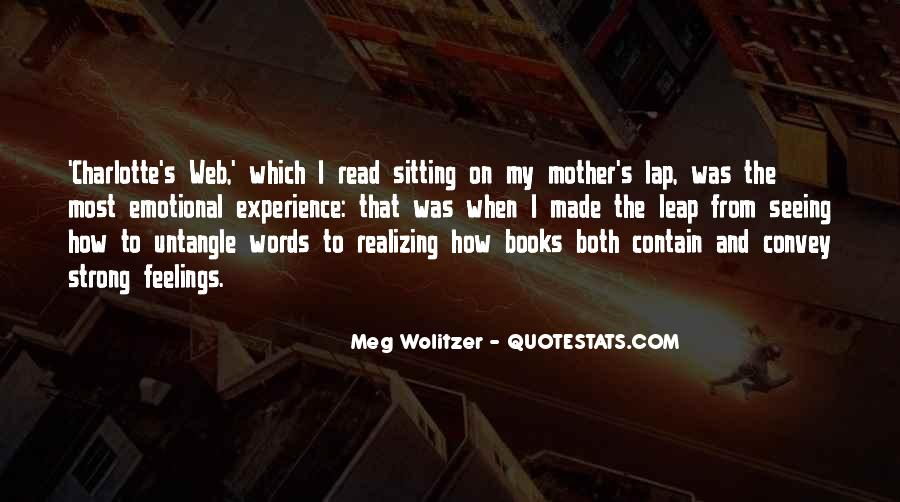 Quotes About Wolitzer #883864