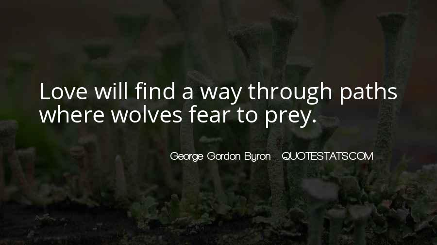 Quotes About Wolves Love #1274668