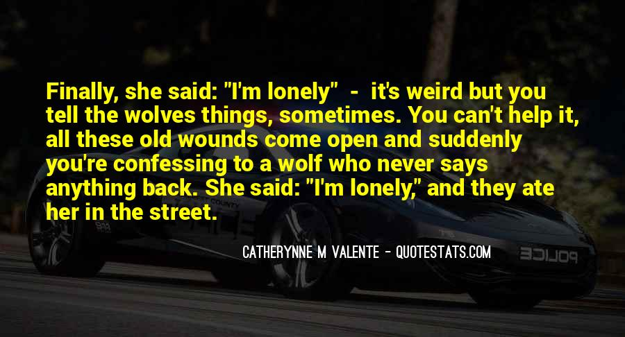 Quotes About Wolves Love #1709989