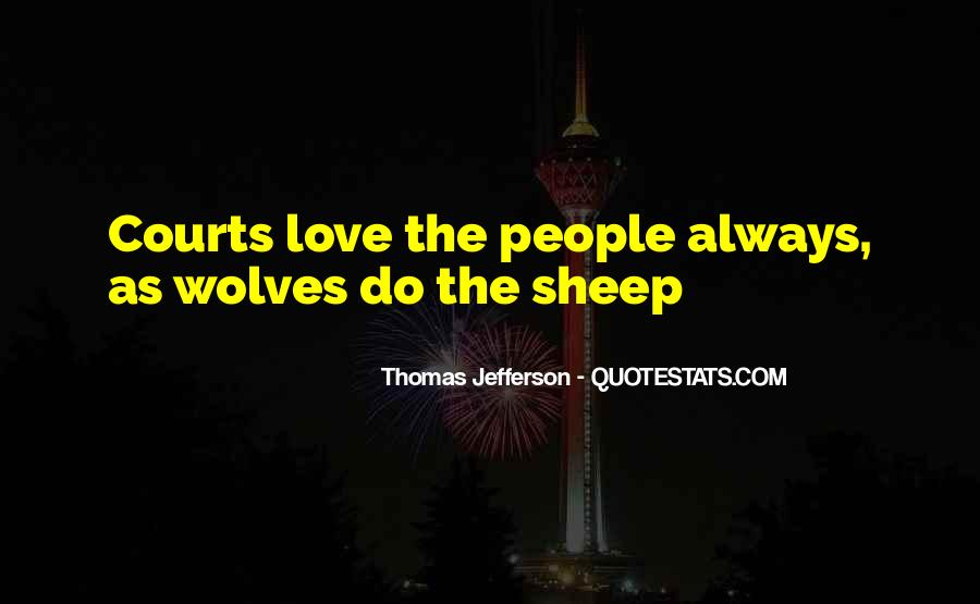 Quotes About Wolves Love #657951