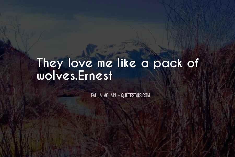 Quotes About Wolves Love #667632