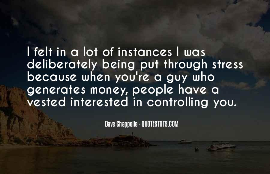 Quotes About Stress And Money #108926
