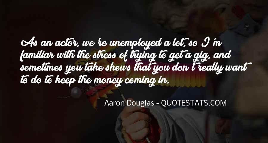 Quotes About Stress And Money #130198