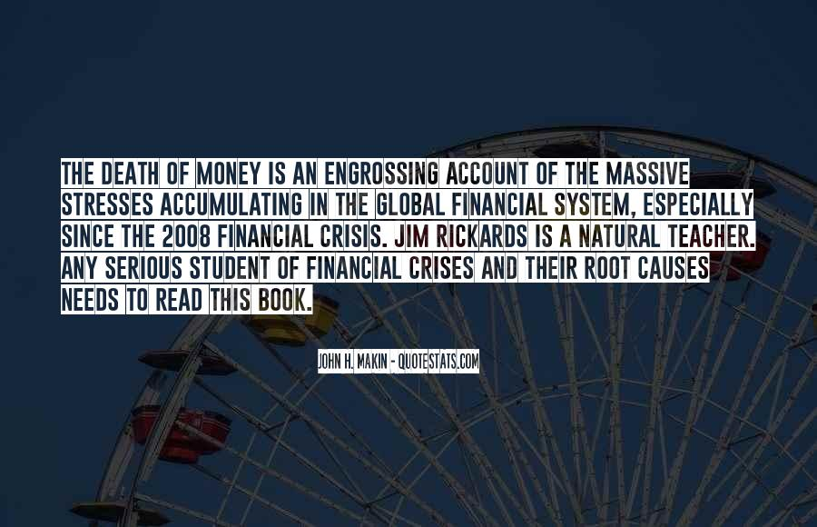 Quotes About Stress And Money #1546256