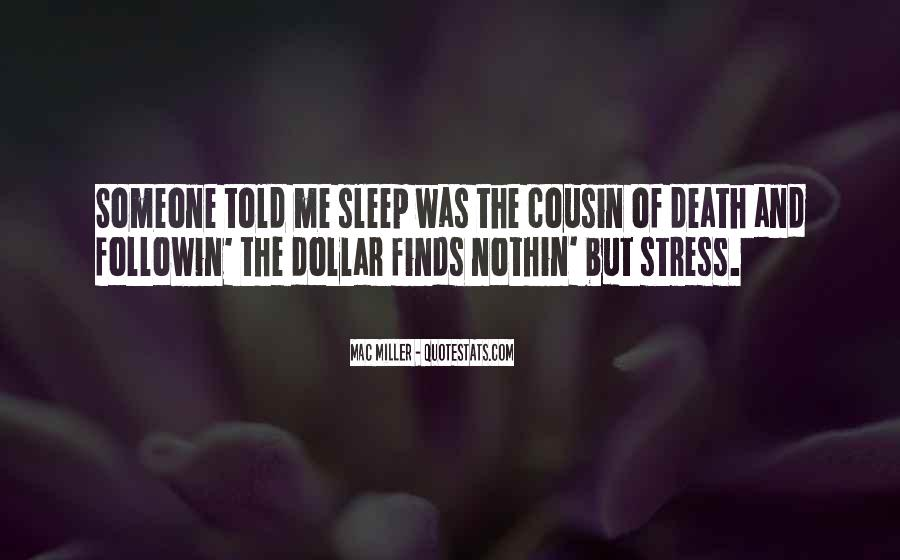 Quotes About Stress And Money #967656
