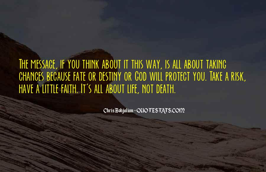 Quotes About Not Taking A Risk #304896