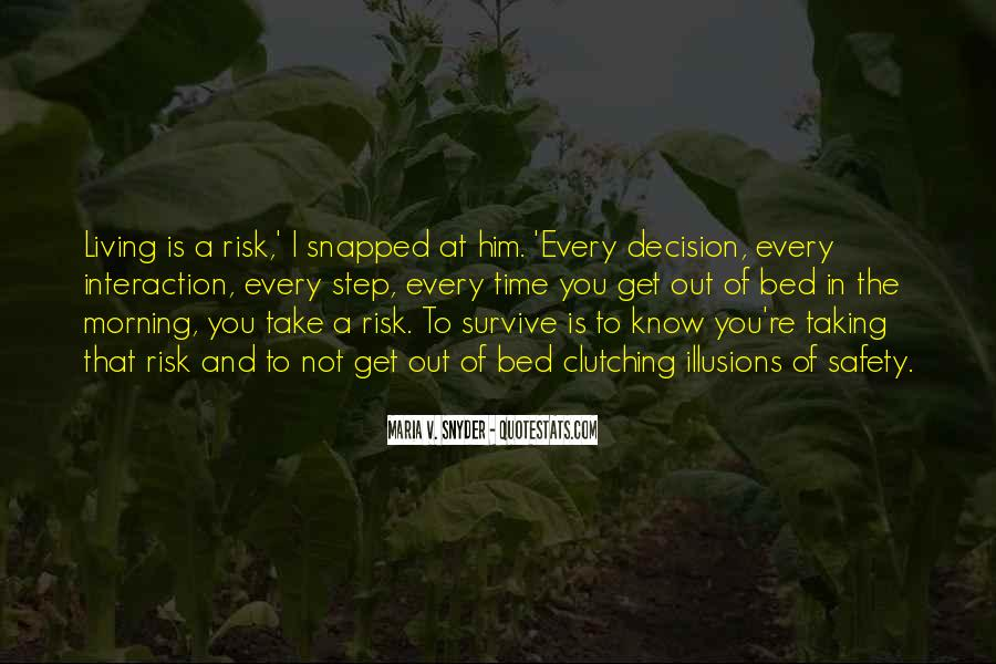 Quotes About Not Taking A Risk #401868