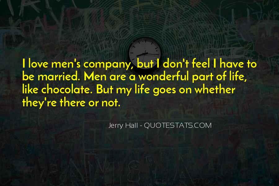 Quotes About Wonderful Men #1075747