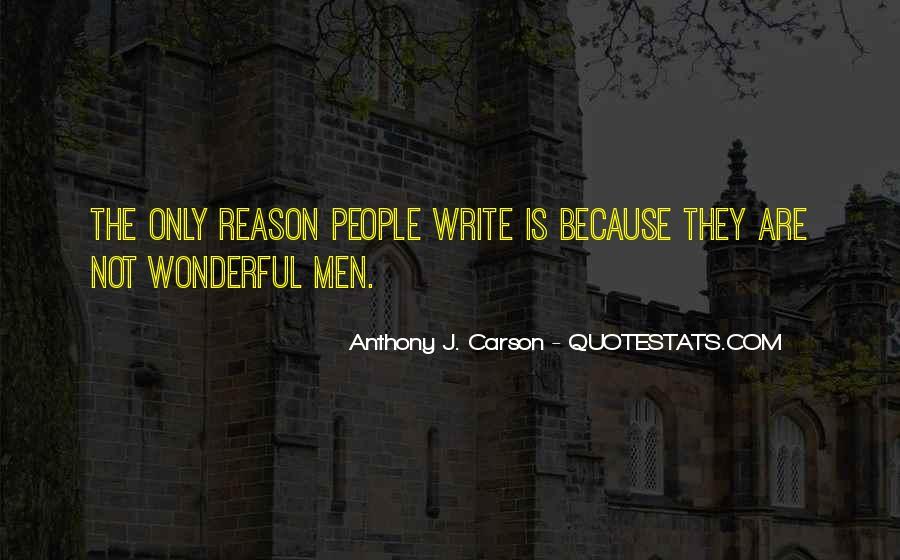 Quotes About Wonderful Men #1238009