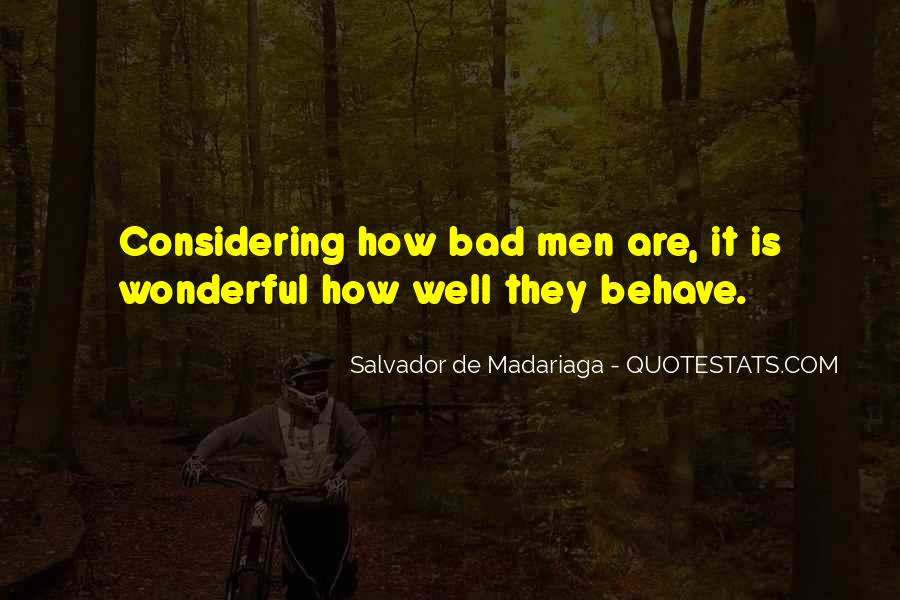 Quotes About Wonderful Men #242093