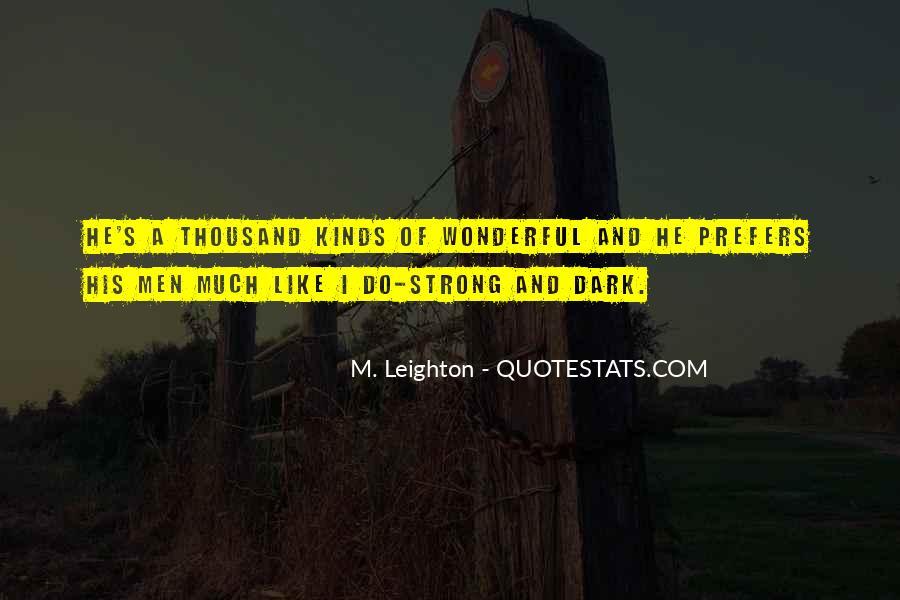 Quotes About Wonderful Men #562377