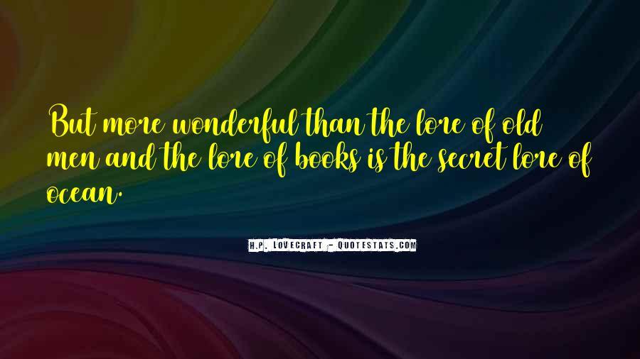 Quotes About Wonderful Men #796039