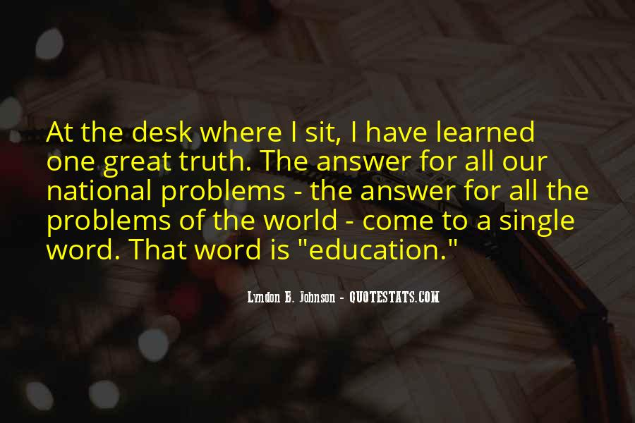 Quotes About Word Problems #1533860