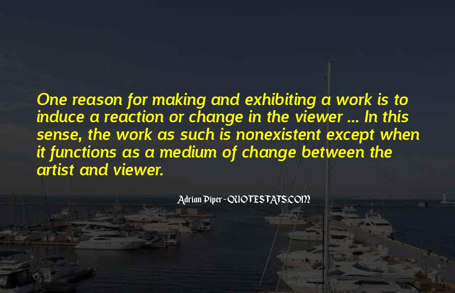 Quotes About Work And Change #238286