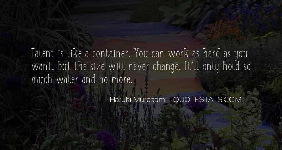 Quotes About Work And Change #430111