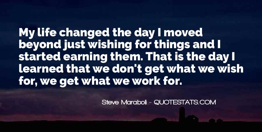 Quotes About Work And Change #85209