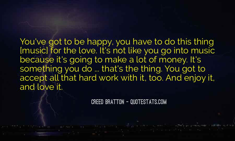 Quotes About Work Vs Love #12292