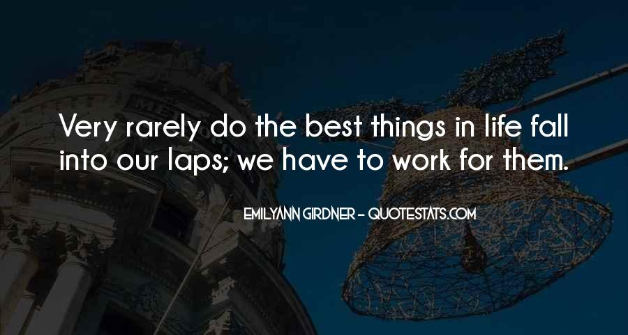 Quotes About Working For Your Success #1268619