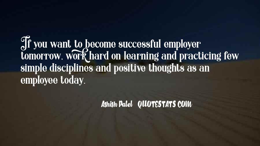Quotes About Working For Your Success #251797