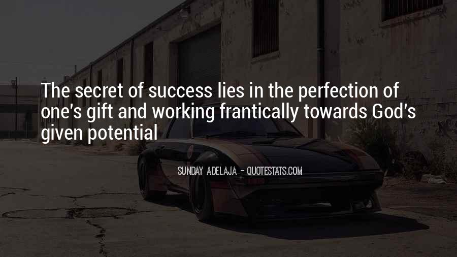 Quotes About Working For Your Success #261321