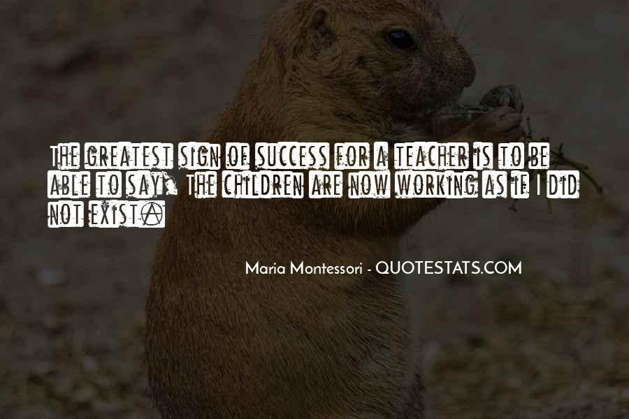 Quotes About Working For Your Success #319777
