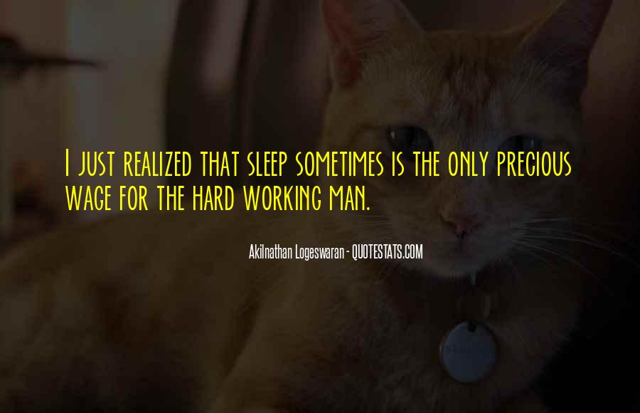 Quotes About Working Hard While Others Sleep #951560