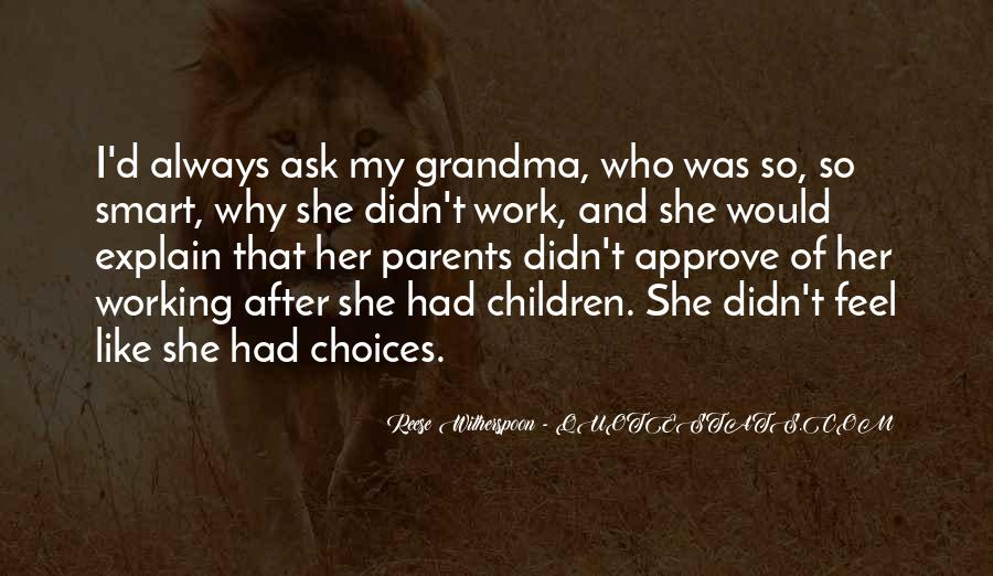 Quotes About Working Parents #1331918